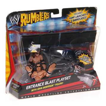 WWE Rumblers Entrance Blast Playset With John Morrison Figure and Accessory 5 for Sale on Swap.com